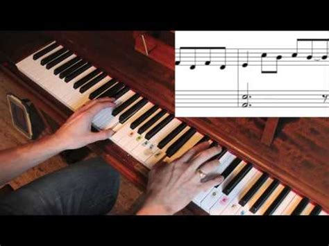 tutorial piano every breaking wave how to play u2 every breaking wave on piano youtube