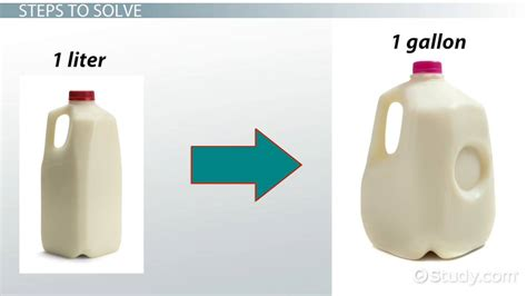 how to litter how to convert liters to gallons lesson transcript study