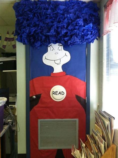Thing On Door thing 1 door dr seuss classroom