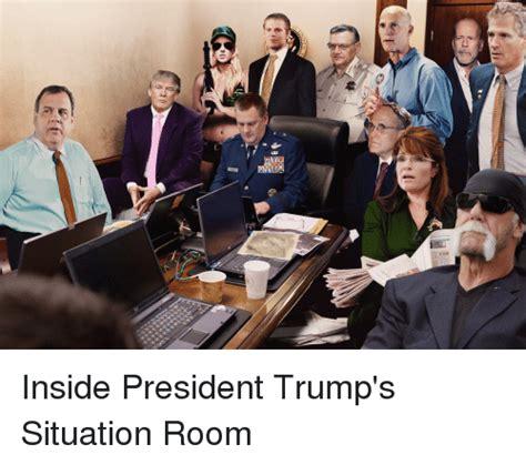 Situation Room Meme - d 舞 inside president trump s situation room politics