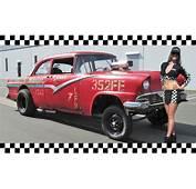 1956 Ford Straight Axle GASSER  Vintage Drag Car BIG