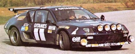 renault alpine a310 rally car tracks renault alpine a310 v6