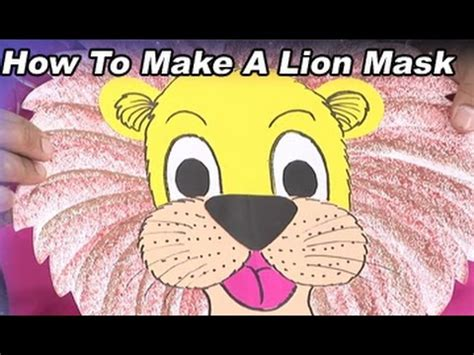 How To Make A Mask Out Of Paper - creative corner how to make a mask with colour