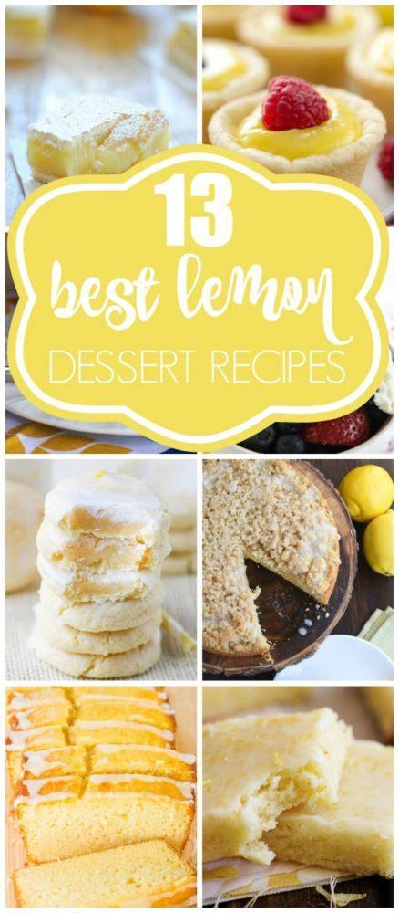 13 luscious lemon dessert recipes pretty my party