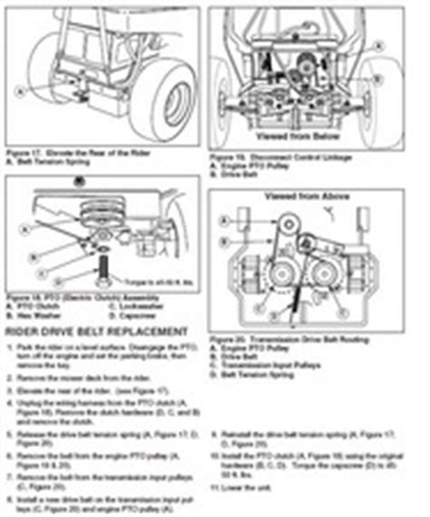 Craftsman Z6000 Belt Diagram