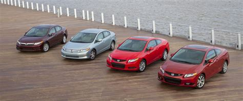 all models of honda civic 2012 honda civic loses its quot recommended quot rating from