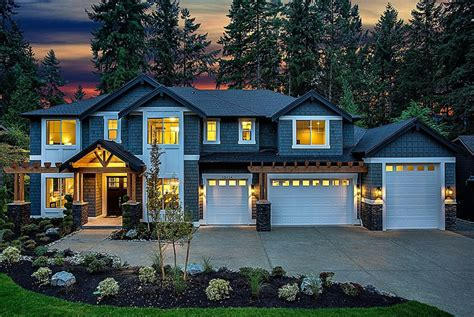 houses in bellevue 2 9 million newly built craftsman style home in bellevue wa homes of the rich