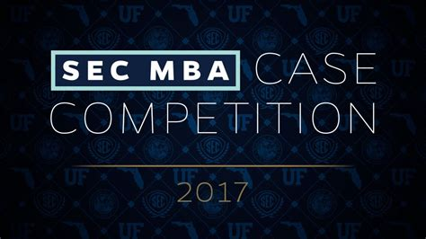 Uf Mba Program Calendar by Of Florida To Host 2017 Sec Mba