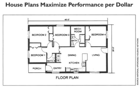 Habitat For Humanity Floor Plans by Superb Habitat House Plans 10 Habitat For Humanity Home