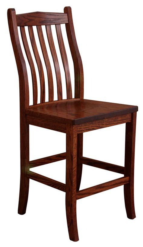 8124h bar height bench leathercraft products ohio hardwood furniture