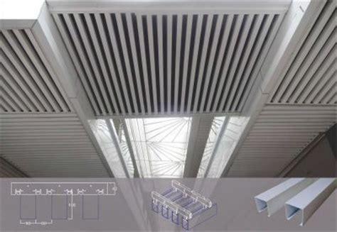 linear metal ceiling u shaped baffle metalium