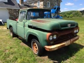 1960 ford f100 pickup truck short bed v8 292 manual shop