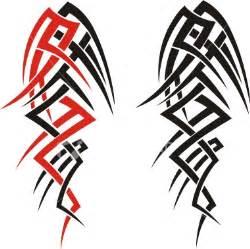 Black tribal tattoos patterns