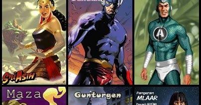 gambar gambar superhero indonesia  terbaru gambat