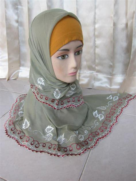 Bordir Jilbab jilbab bordir new design bordir saya