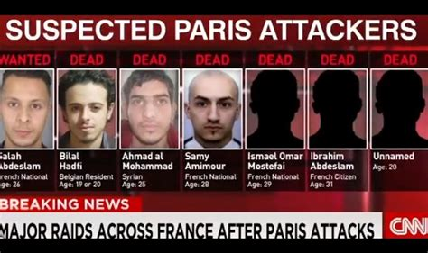 paris terrorist suspects killed paris attacks suspect photos and details revealed hunt