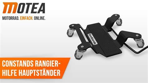 Motorrad Rangierhilfe Youtube by Motorrad Rangierhilfe F 252 R Hauptst 228 Nder Constands Bmw R1100