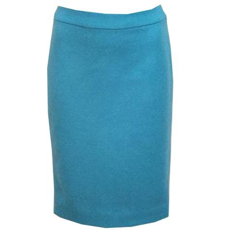 turquoise pencil skirt elizabeth s custom skirts