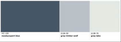 Navy Blue Paint Bedroom Newburyport Blue Gray Timber Wolf And Gray Lake By