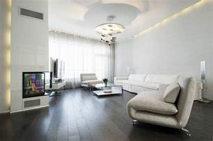 Living Room Modern Flooring Living Room With Wood Floors And 4235