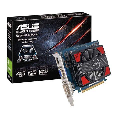 Asus Geforce Gt 730 asus gt730 4gd3 graphics card gpu nvidia geforce gt 730 4gb ddr3 128bit hdmi dvi