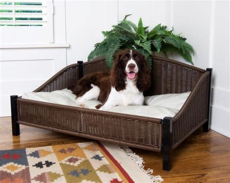 How To Clean Pillow Pet by Wicker Bed With Easy Clean Pet Cushion Soft Pillow Ebay