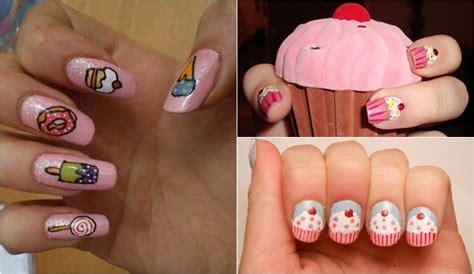 imagenes de uñas pintadas de helados ideas para pintar las u 241 as con dibujos en primavera y verano