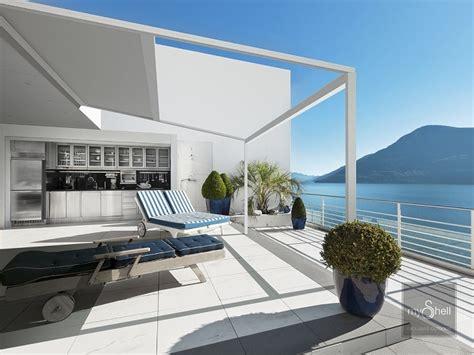 mobili per terrazzi coperture per terrazzi esterni idee di design per la casa