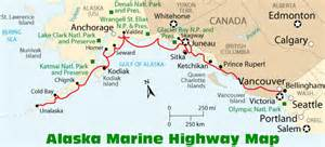 alaska canada highway map how to get to alaska information and maps
