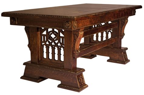 Jacobean Dining Room Set artisans of the valley hand crafted custom tables gothic
