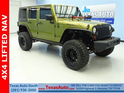 rescue green jeep rubicon 1j8ga69148l585923 2008 jeep wrangler unlimited rubicon