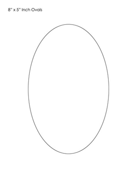 oval shape template printable tim de vall comics printables for