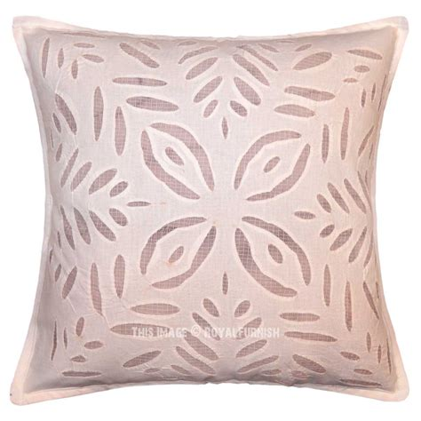 living room throw pillow covers 16 quot pink cotton pillow cut work pillow bedroom and living