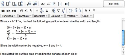 Enter Math Expressions In Your Show My Work Grading Comments