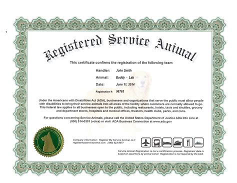 Emotional Support Animal Certification Letter Esa Certificate Page 2 Pics About Space