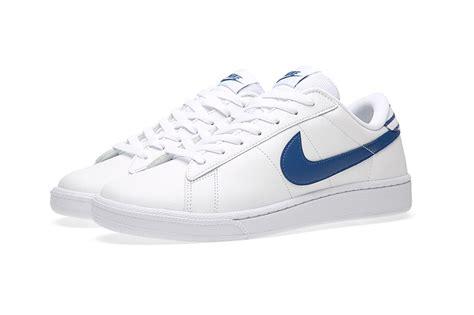 nike tennis classic cs white blue hypebeast