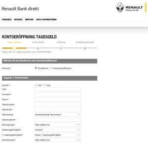 zinsen renault bank renault bank tagesgeldkonto aktueller test erfahrungen