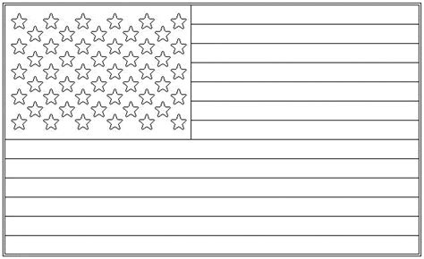 flag coloring page for kindergarten american flag coloring page for the love of the country