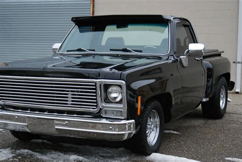 Chevy Short Bed For Sale 1980 Chevrolet C10 Short Bed Step Side Deluxe Custom Air