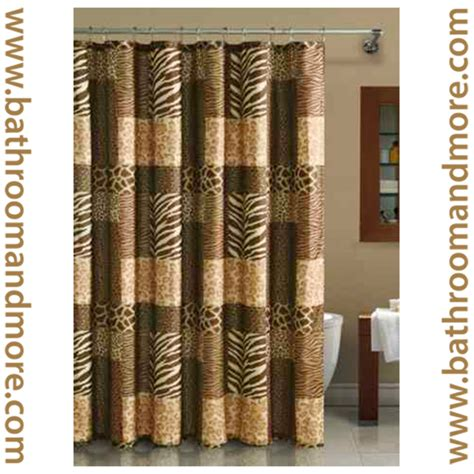 print shower curtain animal print curtains furniture ideas deltaangelgroup
