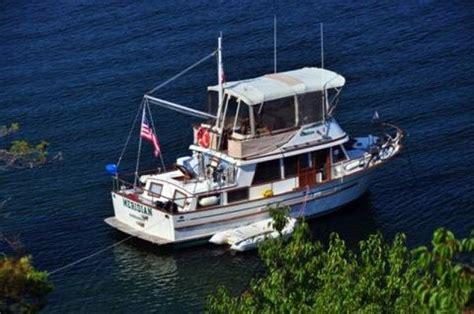 Albin 36 Aft Cabin Trawler by 1983 Used Albin Trunk Cabin Trawler Boat For Sale