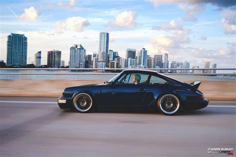 lowered porsche 911 lowered porsche 911 2 964 side