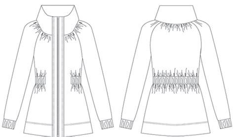 drawing jacket pattern jackets drawings