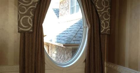 oval window curtains solution for an oval window window treatments