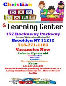 rickman christian day care learning center home