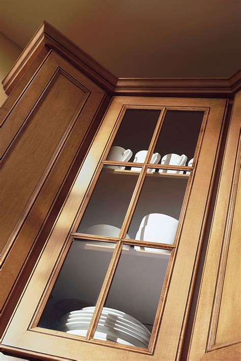 wall cabinet  mullion doors aristokraft cabinetry