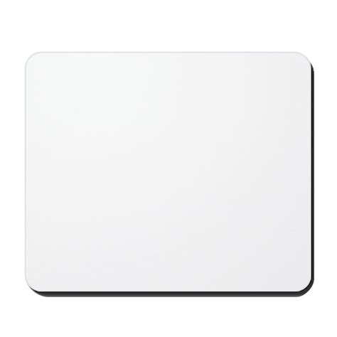 Mouse Pad Point Blank plain blank mousepad by originalautomobile