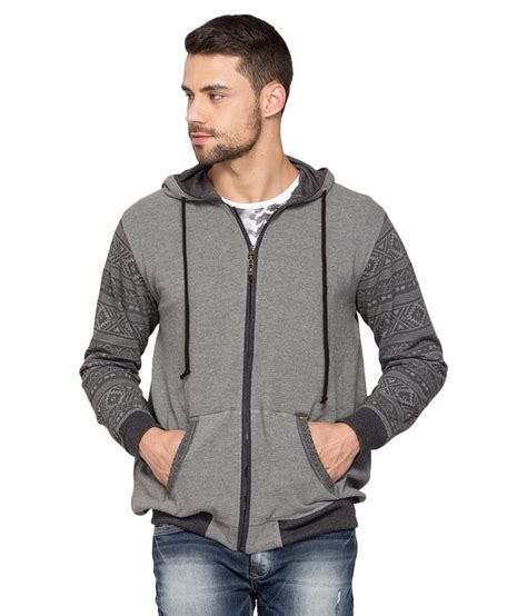 spykar grey sleeve jacket buy spykar grey