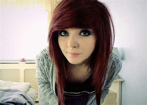 emo hairstyles brown hair emo girl brown hair emo pinterest emo girls girls