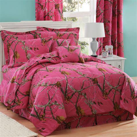 realtree bedding realtree ap fuchsia bedding collection